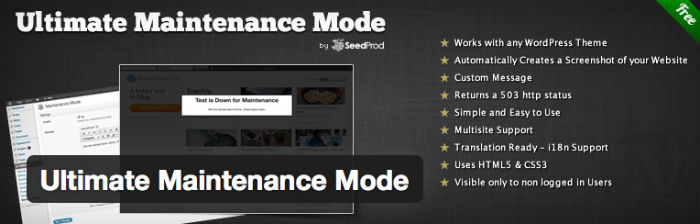 Ultimate-Maintenance-Mode