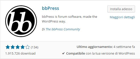 Plugin WordPress - come creare un forum con WordPress
