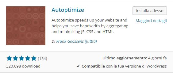 Plugin WordPress - Come ottimizzare codice Java Script, CSS e HTML