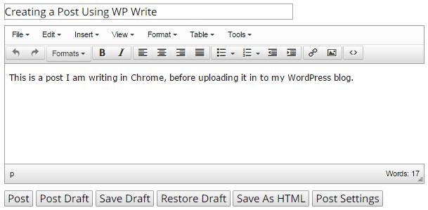 WP-Write