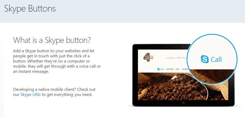 Come inserire Skype su WordPress per l'assistenza