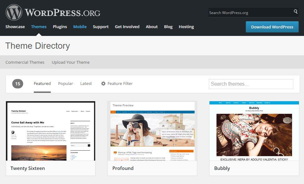 Crea un sito da zero con WordPress