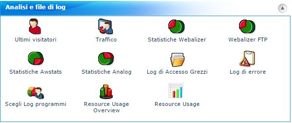 cpanel - analisi e file di log