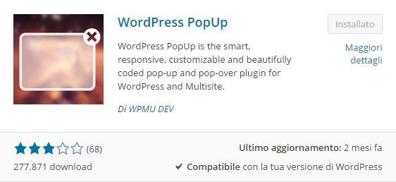 Plugin WordPress - come inserire un pop-up nel tuo blog
