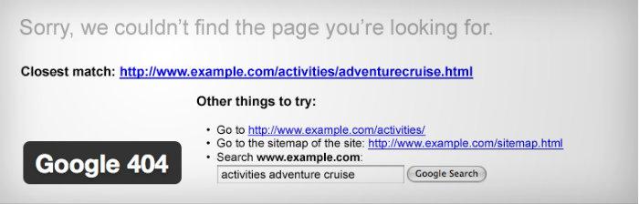 Google-404