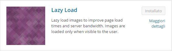 Plugin WordPress - Come ridurre il caricamento delle immagini