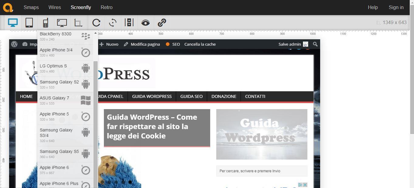 Guida WordPress - Come testare un sito nei Browser
