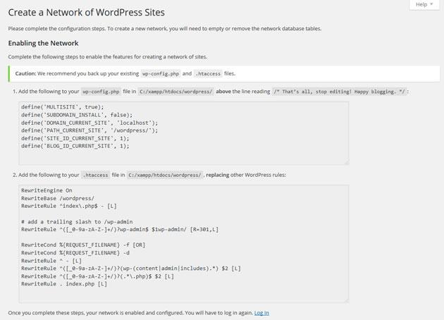 Come installare WordPress Multisite